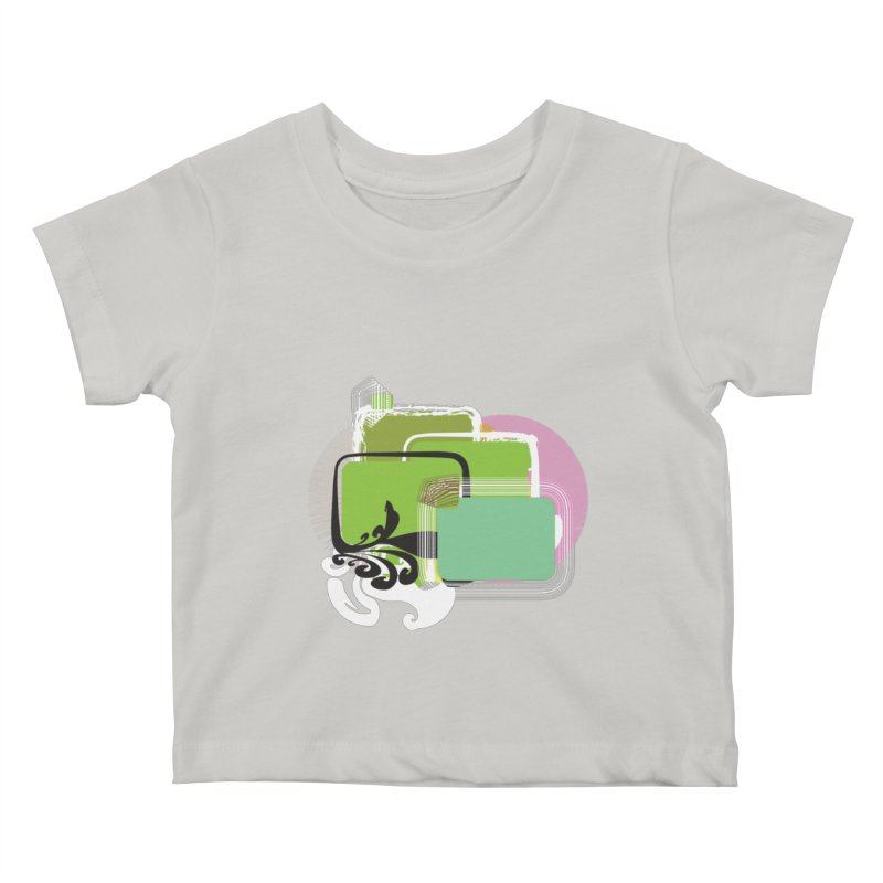Squares+ Kids Baby T-Shirt by Turkeylegsray's Artist Shop