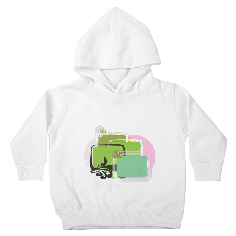 Squares+ Kids Toddler Pullover Hoody by Turkeylegsray's Artist Shop