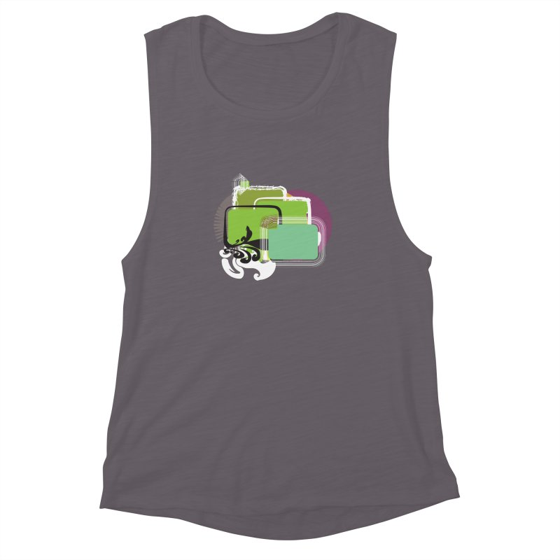 Squares+ Women's Muscle Tank by Turkeylegsray's Artist Shop
