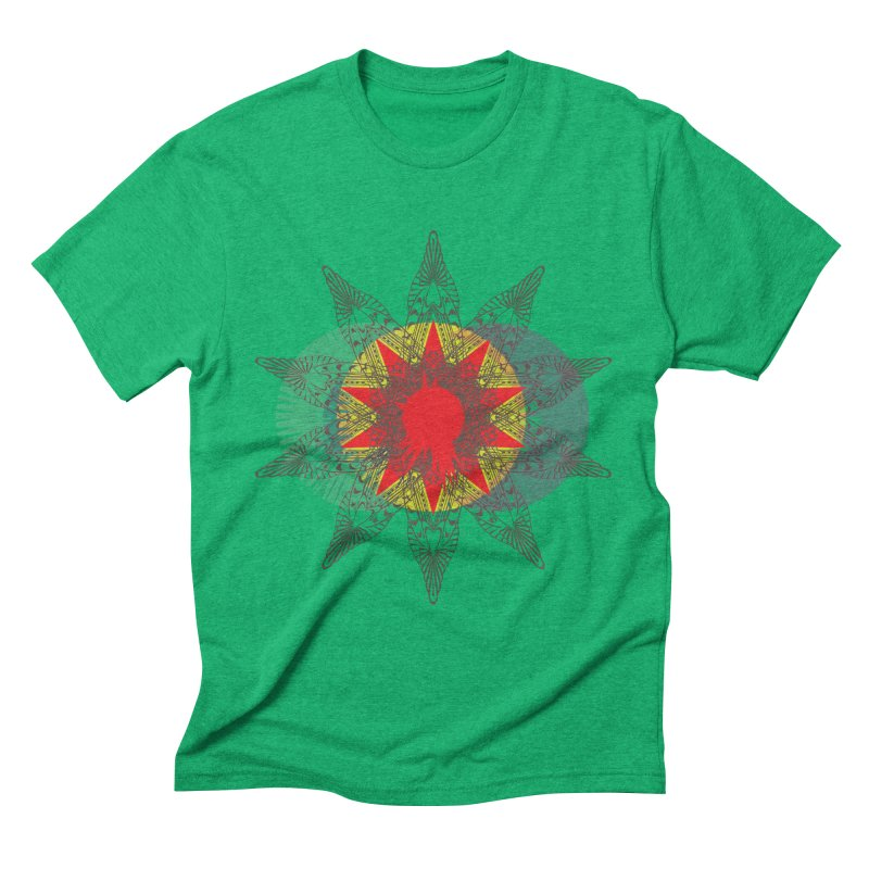 Star Blood* Men's Triblend T-shirt by Turkeylegsray's Artist Shop
