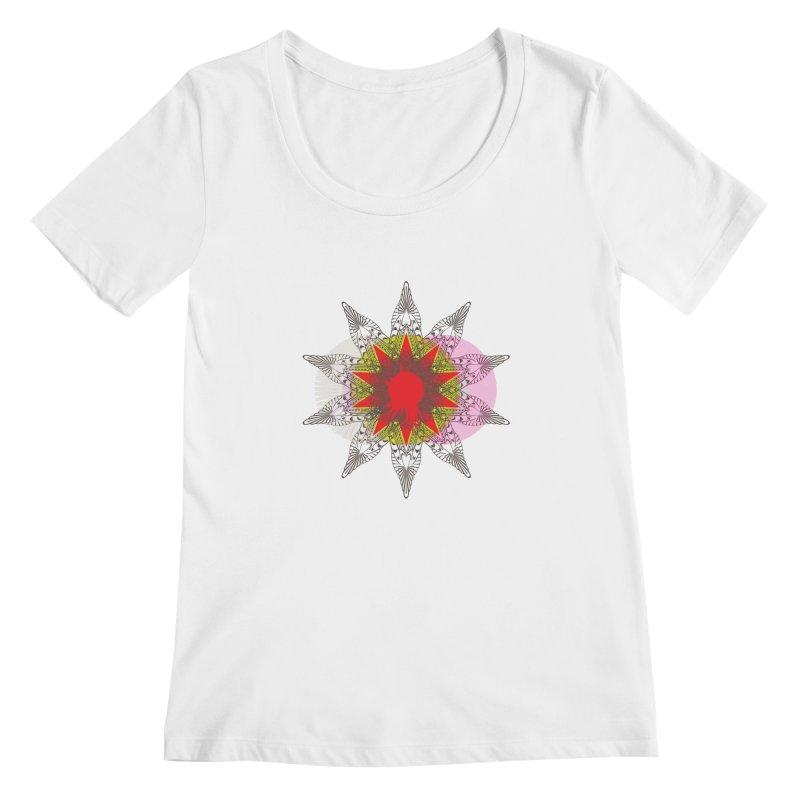 Star Blood* Women's Scoopneck by Turkeylegsray's Artist Shop