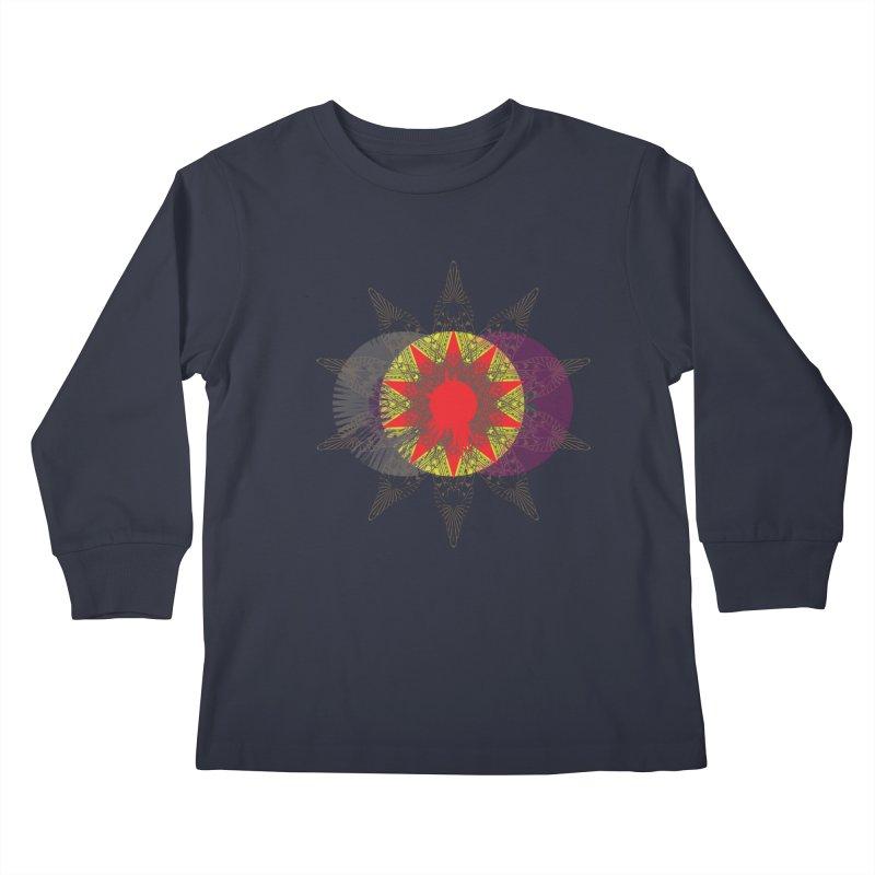 Star Blood* Kids Longsleeve T-Shirt by Turkeylegsray's Artist Shop