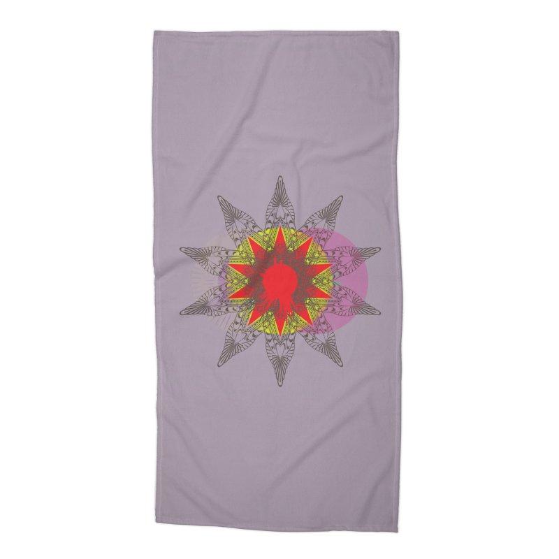 Star Blood* Accessories Beach Towel by Turkeylegsray's Artist Shop