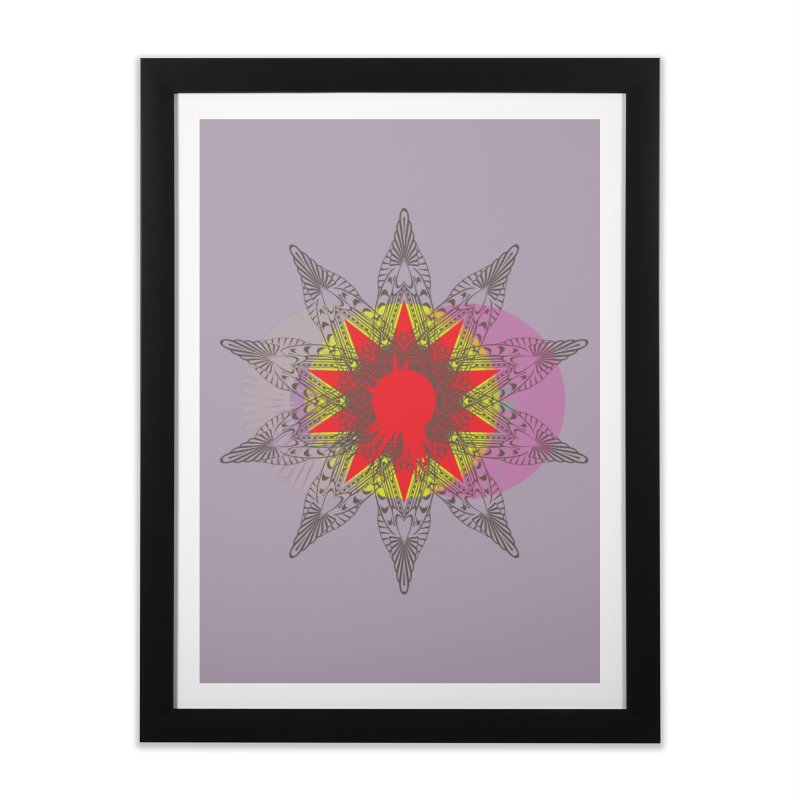 Star Blood* Home Framed Fine Art Print by Turkeylegsray's Artist Shop