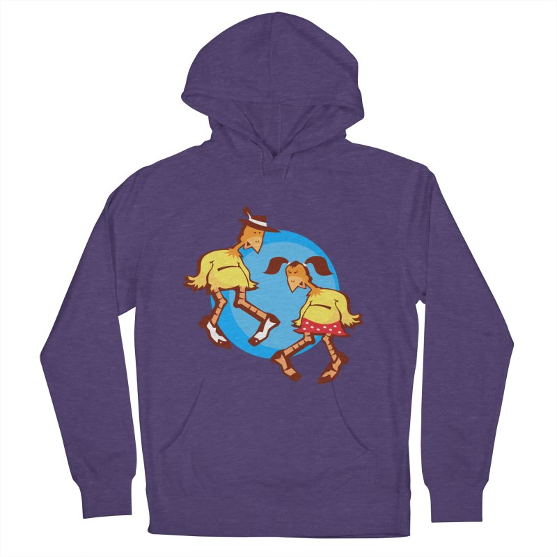 Dancing Chickens Men's Pullover Hoody by Turkeylegsray's Artist Shop