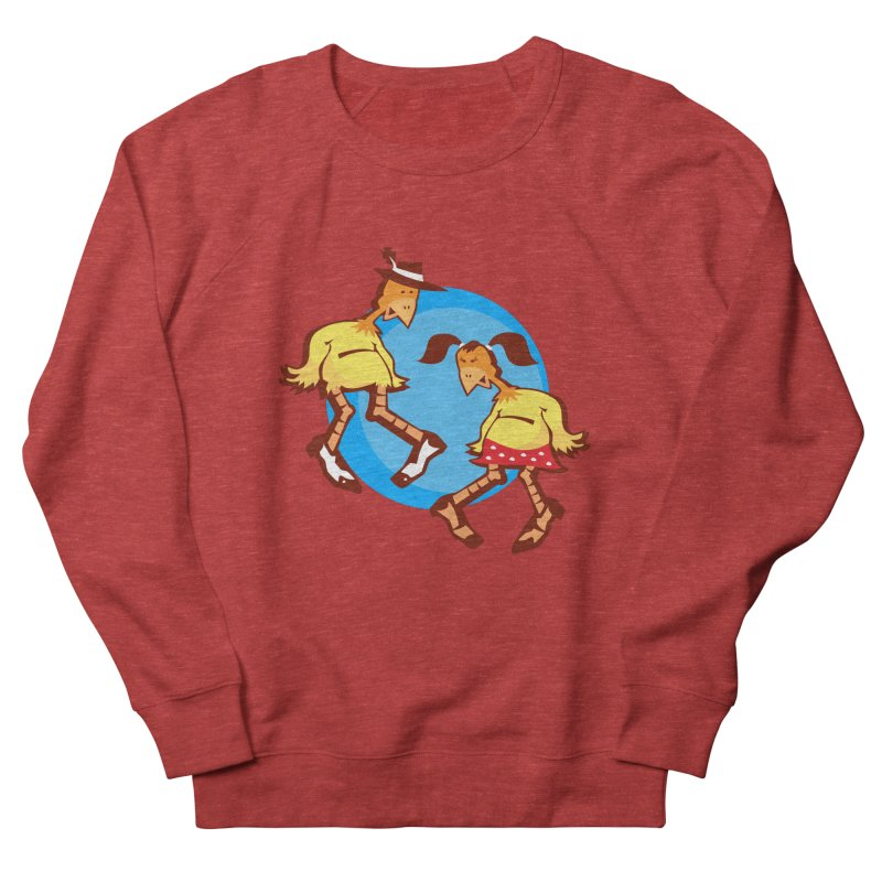 Dancing Chickens Women's Sweatshirt by Turkeylegsray's Artist Shop