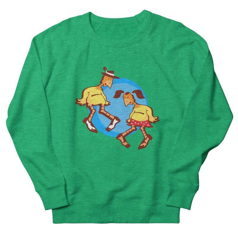 Dancing Chickens Men's Sweatshirt by Turkeylegsray's Artist Shop