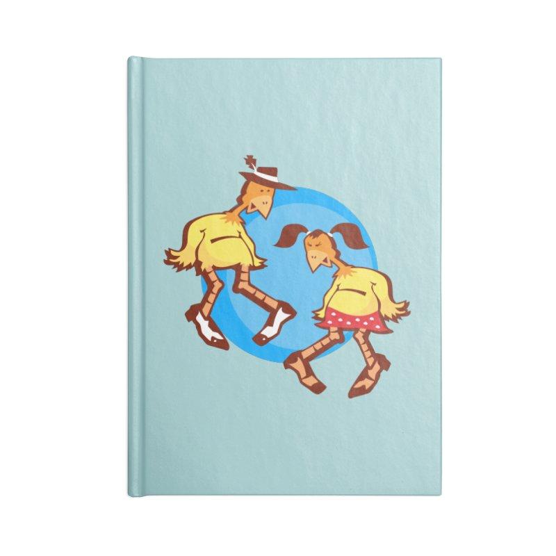 Dancing Chickens Accessories Notebook by Turkeylegsray's Artist Shop