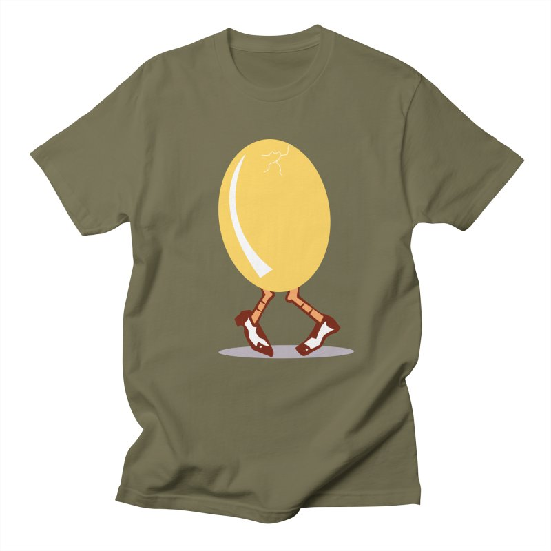 Dancing Egg Men's T-shirt by Turkeylegsray's Artist Shop