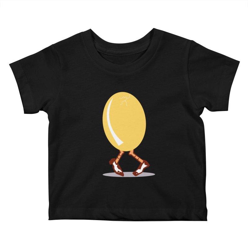 Dancing Egg Kids Baby T-Shirt by Turkeylegsray's Artist Shop