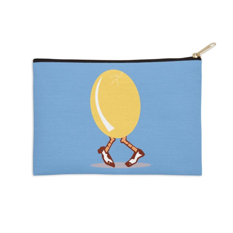 Dancing Egg Accessories Zip Pouch by Turkeylegsray's Artist Shop