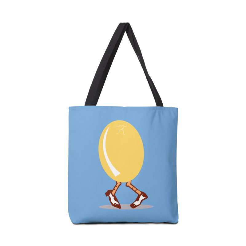 Dancing Egg Accessories Bag by Turkeylegsray's Artist Shop