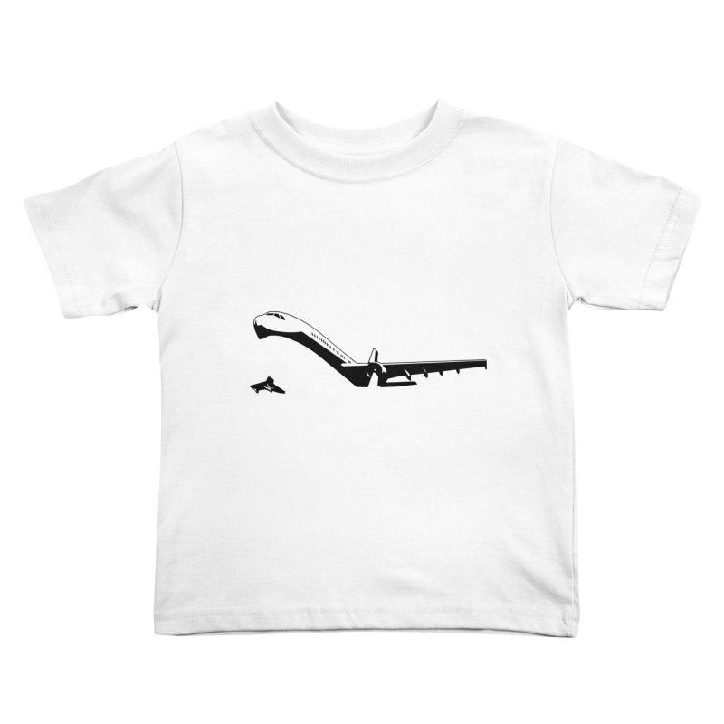 Plane Kids Toddler T-Shirt by Turkeylegsray's Artist Shop