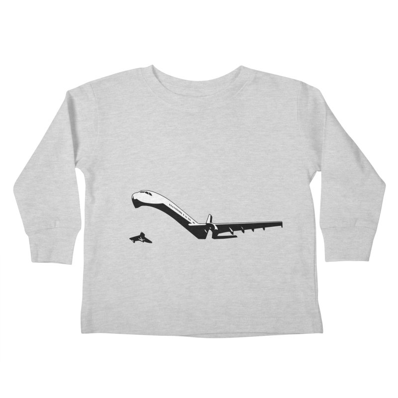 Plane Kids Toddler Longsleeve T-Shirt by Turkeylegsray's Artist Shop