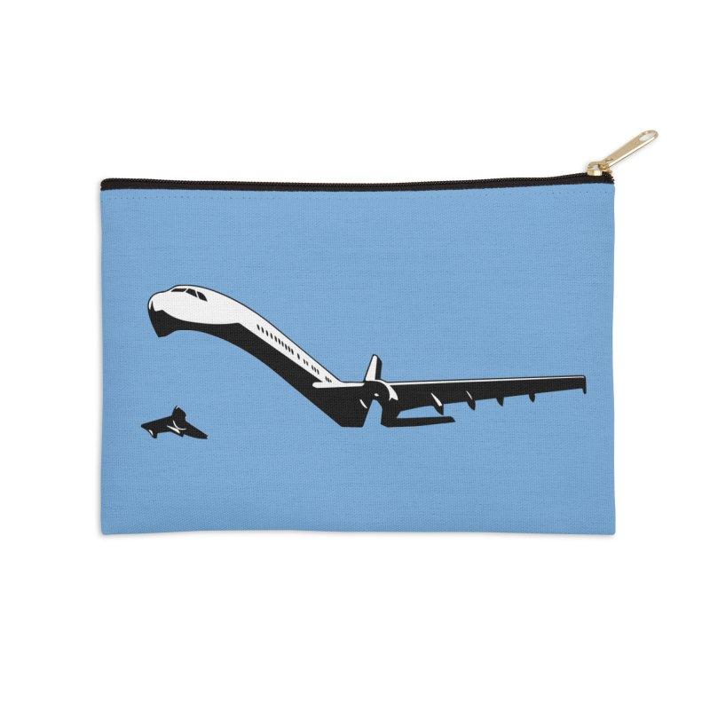 Plane Accessories Zip Pouch by Turkeylegsray's Artist Shop