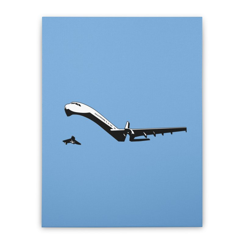 Plane Home Stretched Canvas by Turkeylegsray's Artist Shop