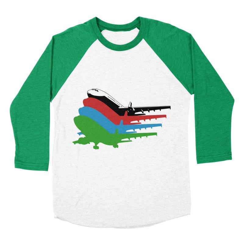 Planes Women's Baseball Triblend T-Shirt by Turkeylegsray's Artist Shop