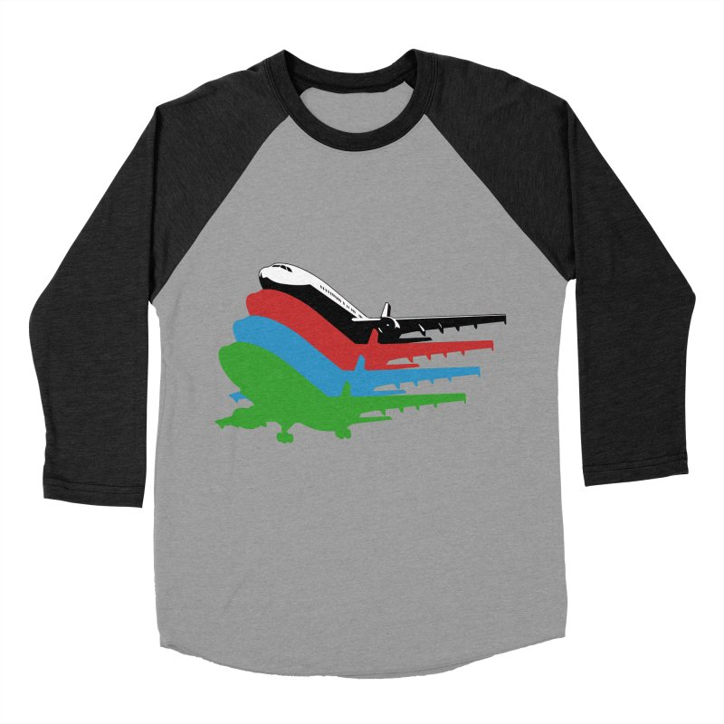Planes Women's Baseball Triblend T-Shirt by Turkeylegsray's Artist Shop