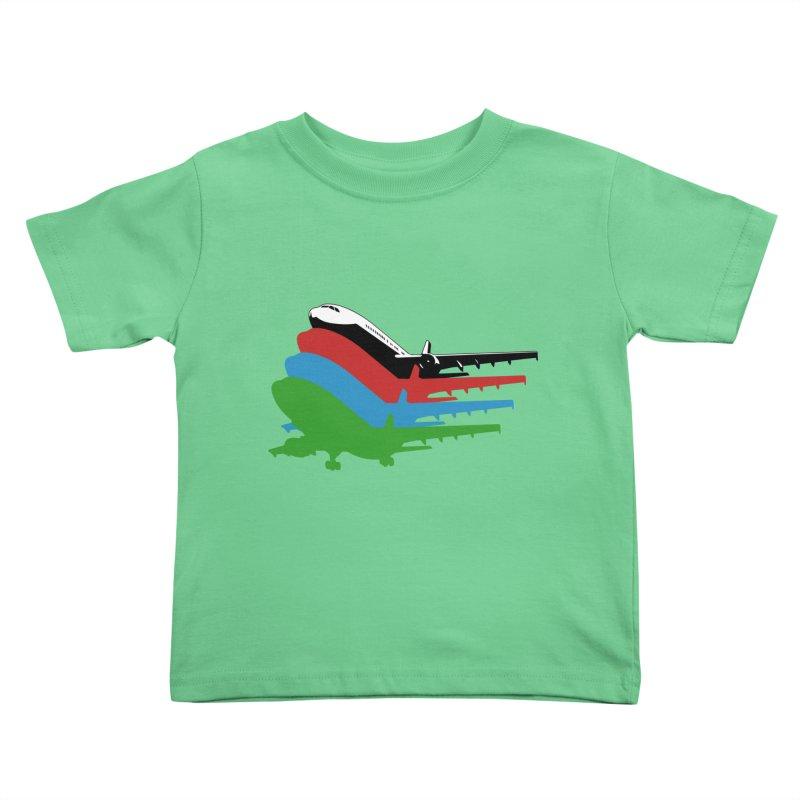 Planes Kids Toddler T-Shirt by Turkeylegsray's Artist Shop