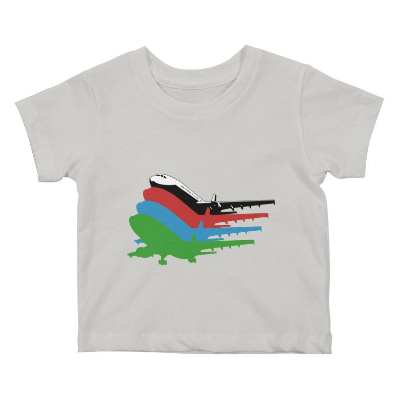 Planes Kids Baby T-Shirt by Turkeylegsray's Artist Shop
