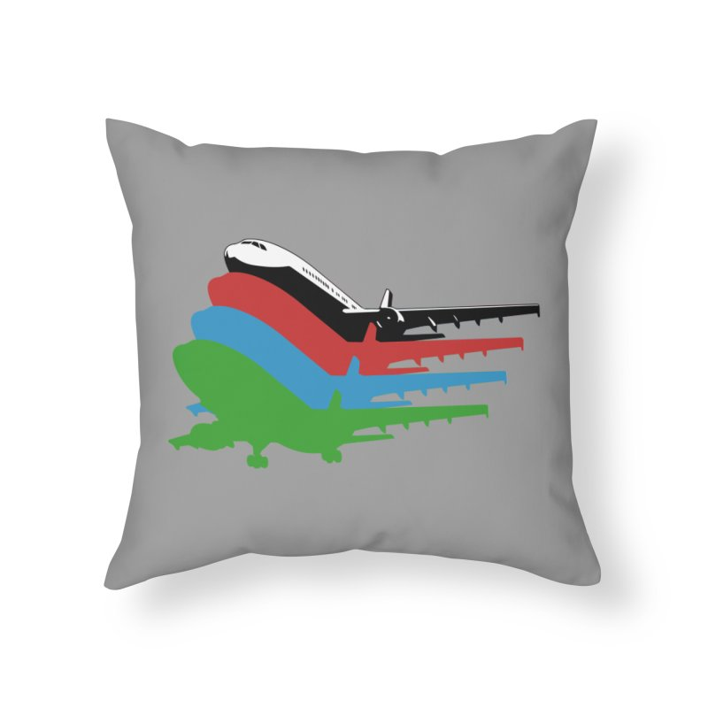 Planes Home Throw Pillow by Turkeylegsray's Artist Shop