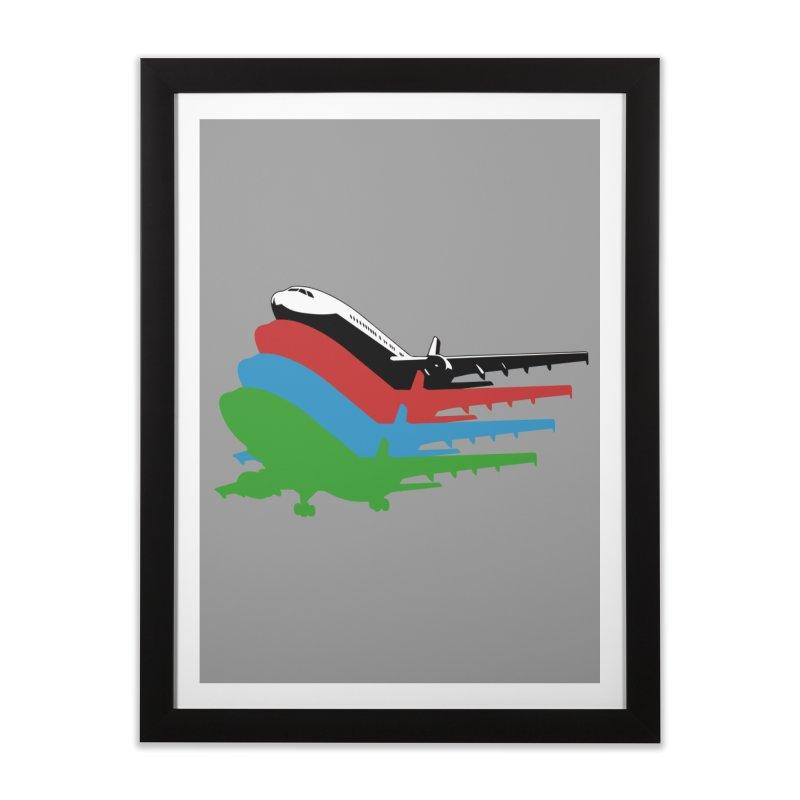 Planes Home Framed Fine Art Print by Turkeylegsray's Artist Shop