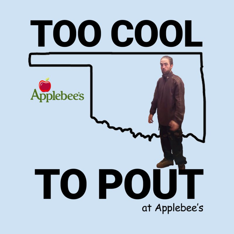 TOO COOL TO POUT Men's T-Shirt by Turkeylegsray's Artist Shop