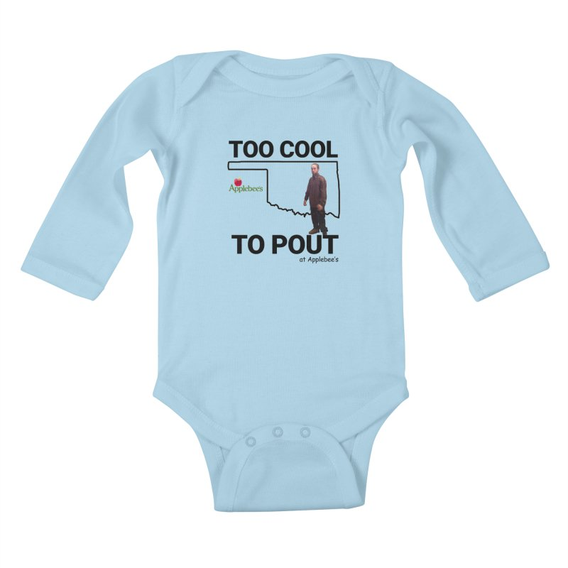 TOO COOL TO POUT Kids Baby Longsleeve Bodysuit by Turkeylegsray's Artist Shop