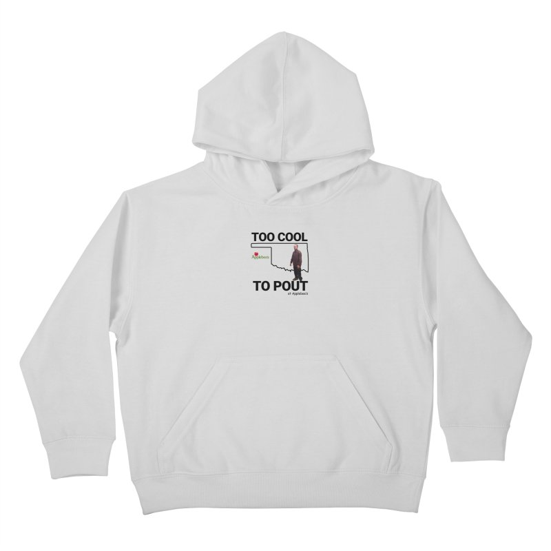 TOO COOL TO POUT Kids Pullover Hoody by Turkeylegsray's Artist Shop
