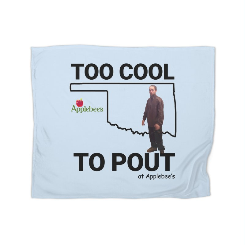 TOO COOL TO POUT Home Blanket by Turkeylegsray's Artist Shop