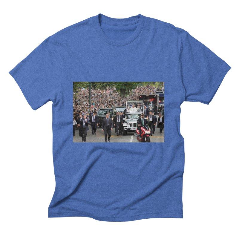 Secret Agent Scooter Scott Men's Triblend T-shirt by Turkeylegsray's Artist Shop