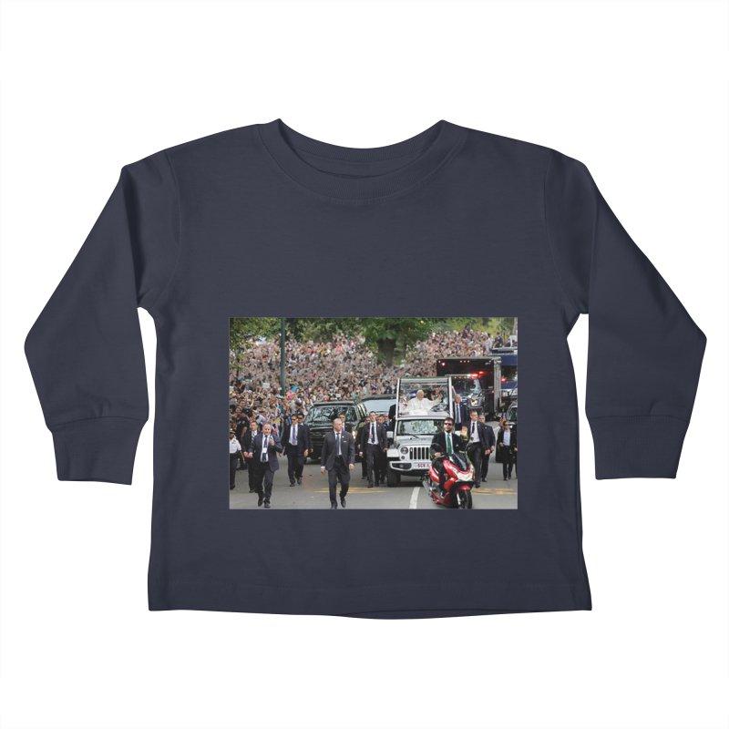 Secret Agent Scooter Scott Kids Toddler Longsleeve T-Shirt by Turkeylegsray's Artist Shop