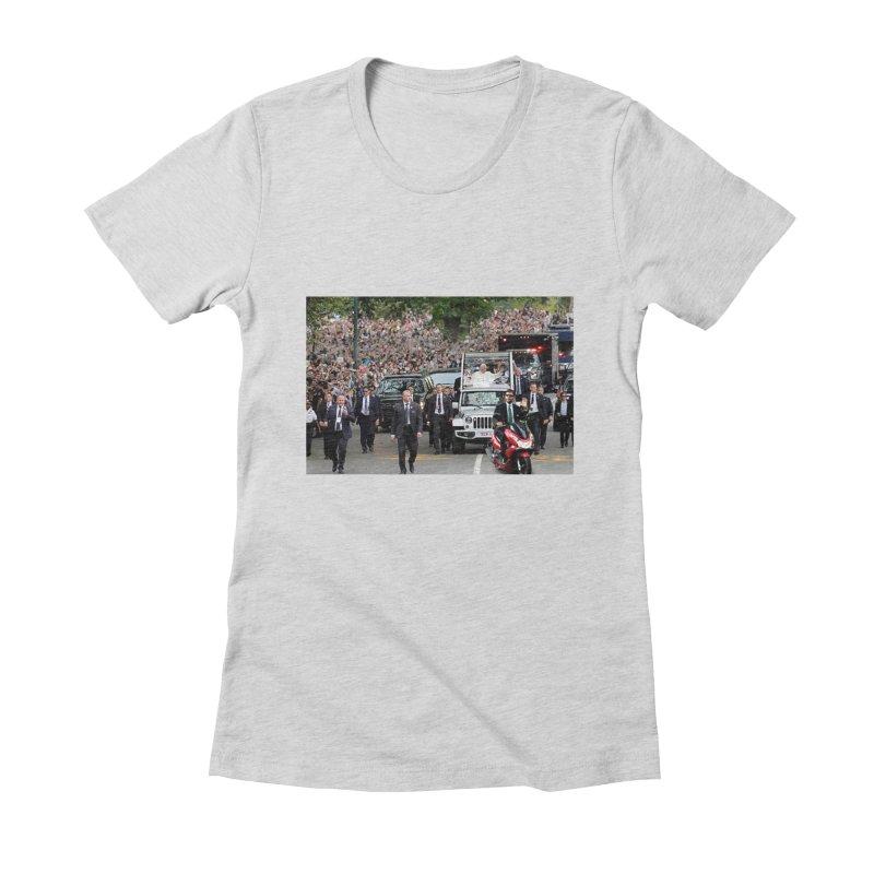 Secret Agent Scooter Scott Women's Fitted T-Shirt by Turkeylegsray's Artist Shop