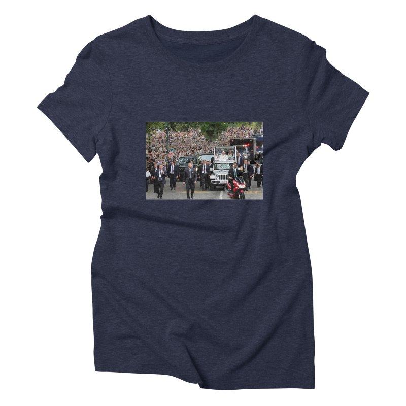 Secret Agent Scooter Scott Women's Triblend T-shirt by Turkeylegsray's Artist Shop