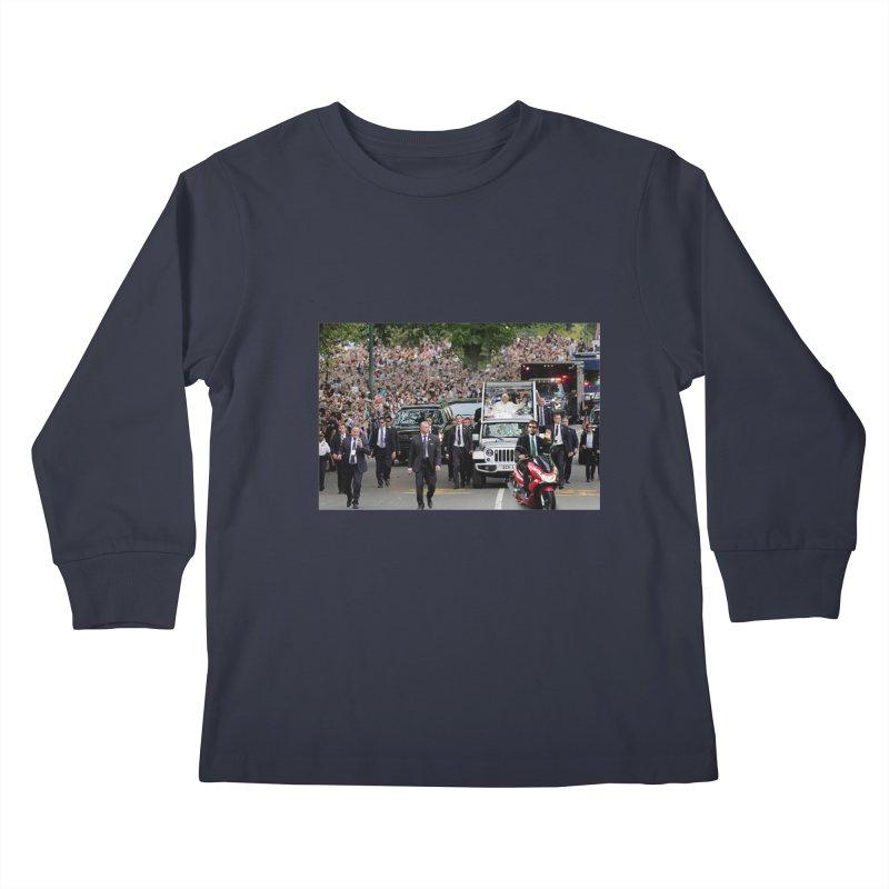 Secret Agent Scooter Scott Kids Longsleeve T-Shirt by Turkeylegsray's Artist Shop
