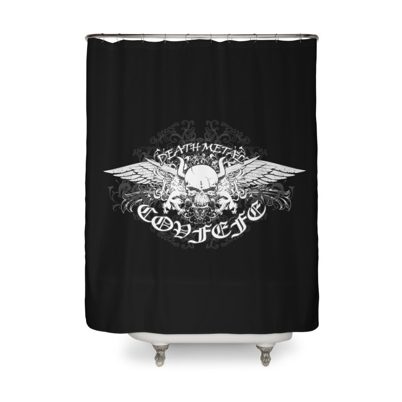 COVFEFE  Home Shower Curtain by Turkeylegsray's Artist Shop