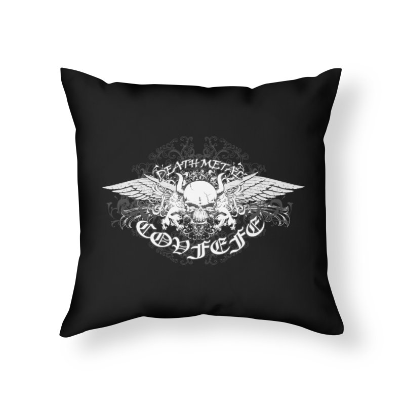 COVFEFE  Home Throw Pillow by Turkeylegsray's Artist Shop