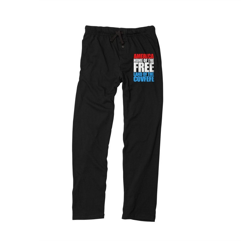 LAND OF THE COVFEFE Women's Lounge Pants by Turkeylegsray's Artist Shop