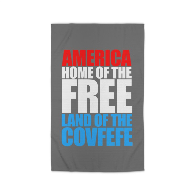 LAND OF THE COVFEFE Home Rug by Turkeylegsray's Artist Shop