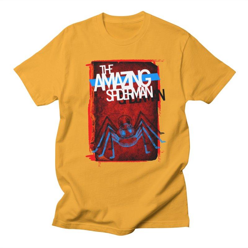 The Amazing Spider-Man!  Men's T-shirt by Turkeylegsray's Artist Shop