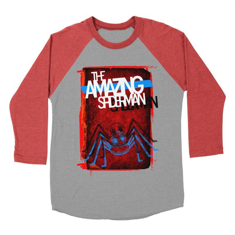 The Amazing Spider-Man!  Women's Baseball Triblend T-Shirt by Turkeylegsray's Artist Shop