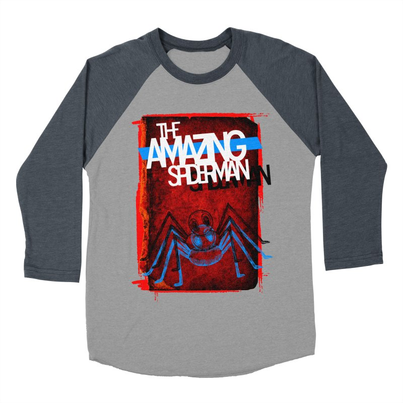The Amazing Spider-Man!  Women's Baseball Triblend T-Shirt by Turkeylegsray's Artist Shop