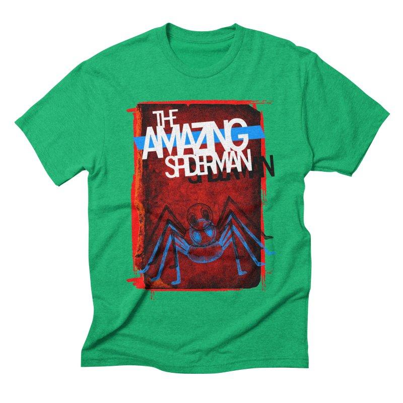 The Amazing Spider-Man!  Men's Triblend T-shirt by Turkeylegsray's Artist Shop