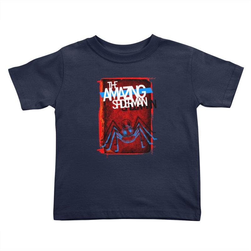 The Amazing Spider-Man!  Kids Toddler T-Shirt by Turkeylegsray's Artist Shop