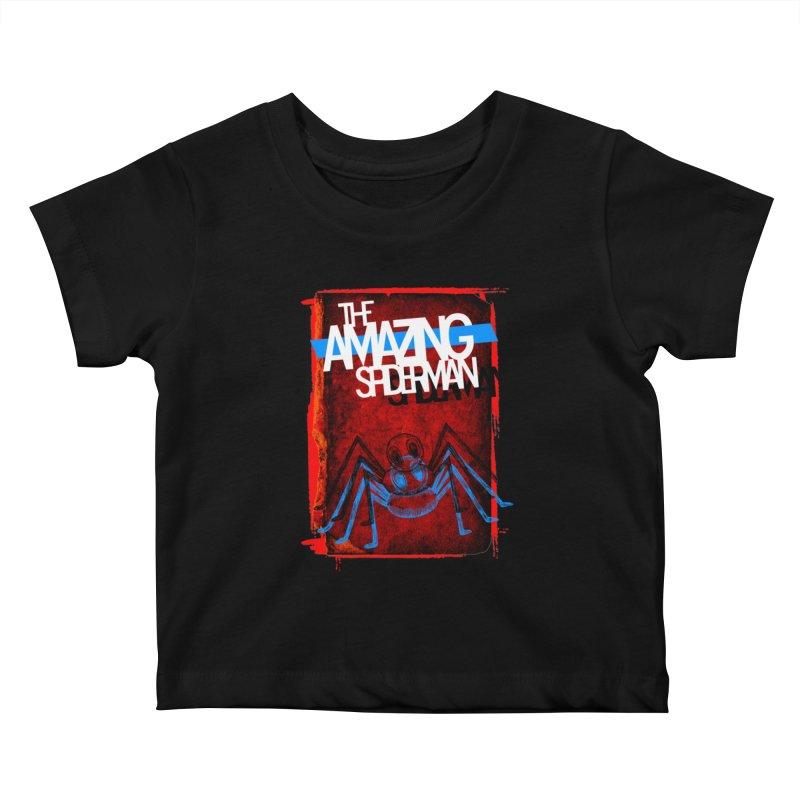 The Amazing Spider-Man!  Kids Baby T-Shirt by Turkeylegsray's Artist Shop