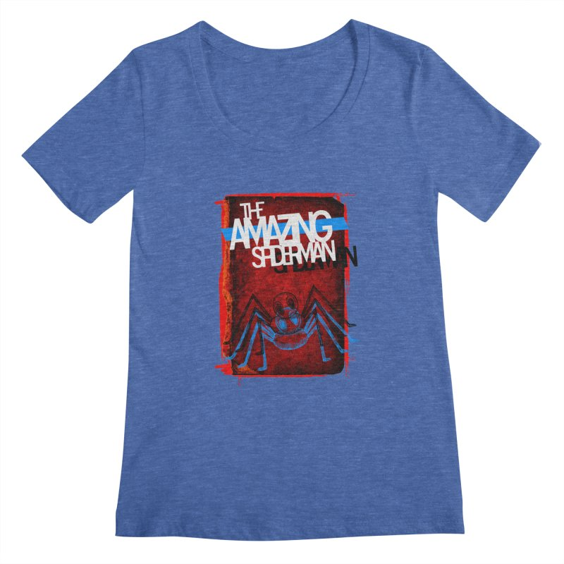 The Amazing Spider-Man!  Women's Scoopneck by Turkeylegsray's Artist Shop