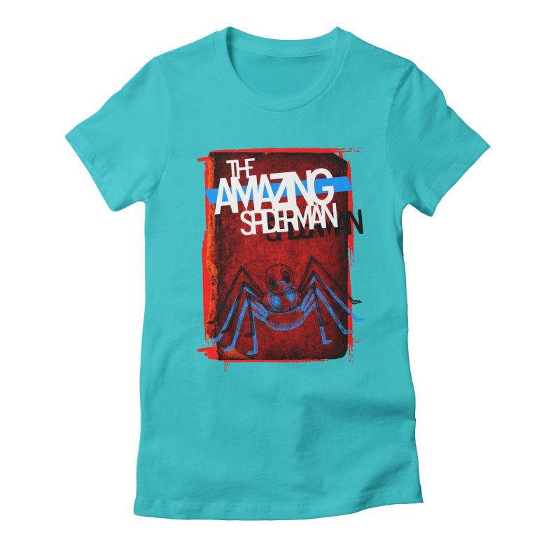 The Amazing Spider-Man!  Women's Fitted T-Shirt by Turkeylegsray's Artist Shop
