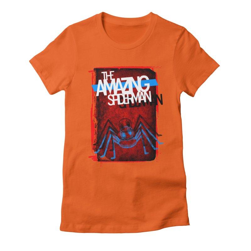 The Amazing Spider-Man!  Women's Fitted T-Shirt by Turkeylegsray's Artist Shop