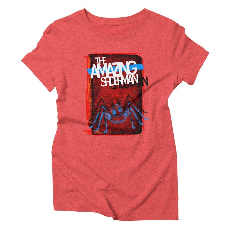 The Amazing Spider-Man!  Women's Triblend T-shirt by Turkeylegsray's Artist Shop