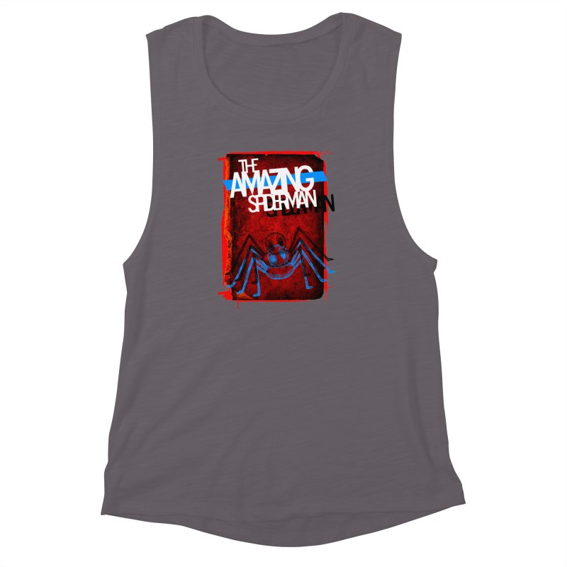 The Amazing Spider-Man!  Women's Muscle Tank by Turkeylegsray's Artist Shop